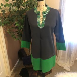 Beautiful Tunic could be worn as a Dress BCBG